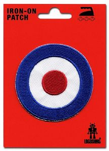Target (Mod Logo) iron-on / sew-on cloth patch   (lsh)